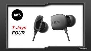 T-Jays Four - Wysokiej jakości słuchawki dokanałowe