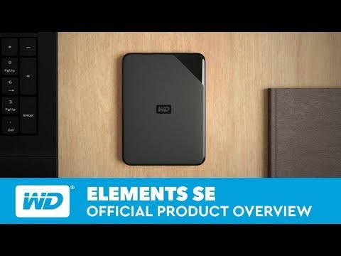 Western Digital Elements SE 500GB