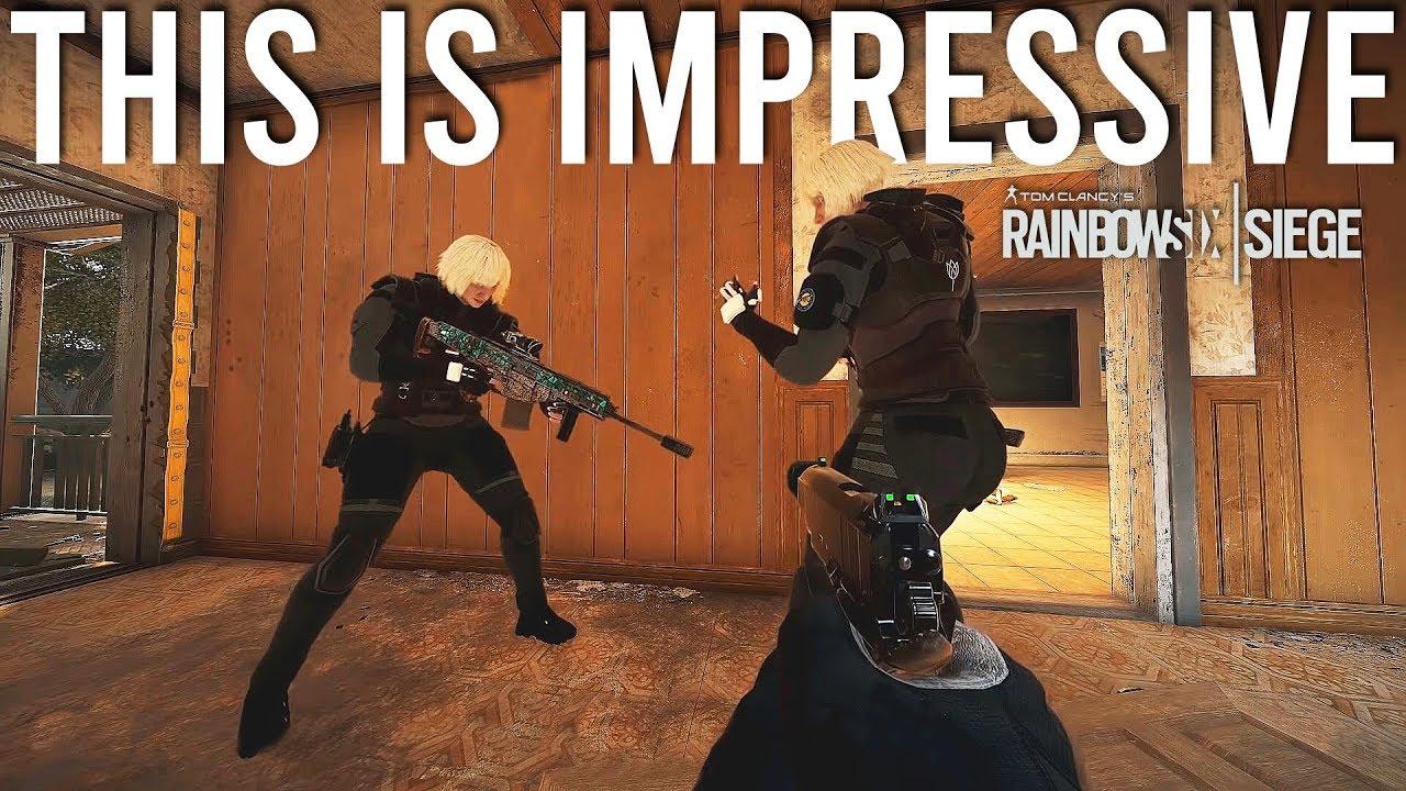 Rainbow Six Siege haciendo una declaración + vídeo