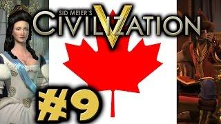 Civilization 5: Deity Twins Invade Canada #9