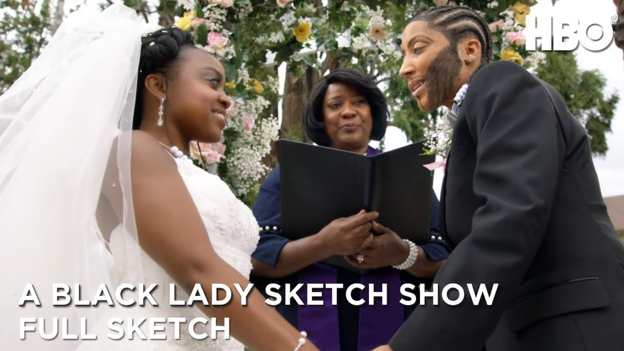 A Black Lady Sketch Show | Chris and Lachel: Altar Falter (Full Sketch) | HBO