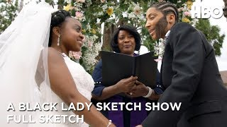 a-black-lady-sketch-show-chris-and-lachel-altar-falter-full-sketch-hbo