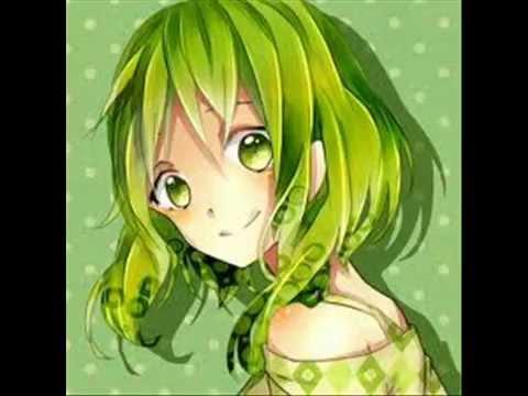 Cabello verde anime