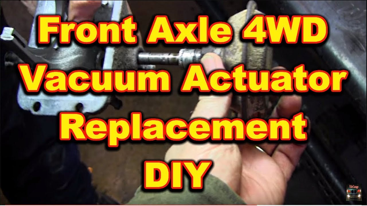 Front Axle 4 Wheel Drive Actuator Replacement 4x4 Dodge Ram Youtube 93 Isuzu Trooper Fuse Box