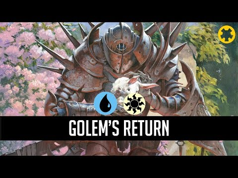 mtg-arena-m20-|-golem's-return-|-random-deck-gameplay-2