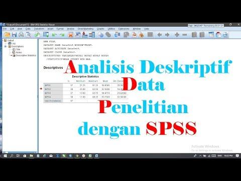 Video kali ini berisi tutorial bagaimana Cara Input data angket & soal tes ke spss | 2020. Untuk kal.