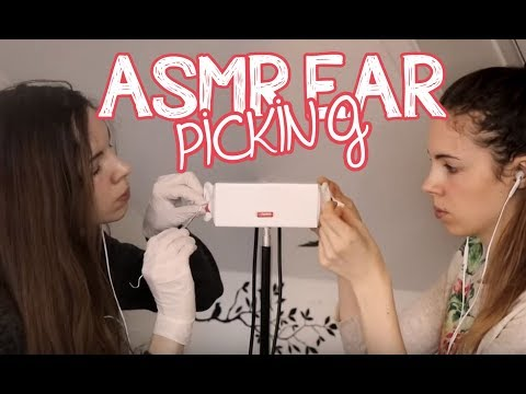 38 Minutes Of Ear Picking ASMR Twins