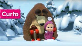 masha e o urso frias no gelo vamos patinar custe o que custar