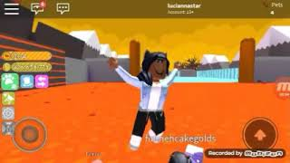 Mee and BB BB play pet simulator in roblox!