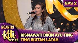 Download lagu NGAKAK Rismawati Bikin Ayu Ting Ting Ikutan Jadi Latah Ngantri KDI