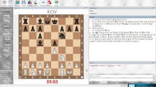 Разбор шахматной партии. Испанское начало (Олеся белыми). Урок 20 (часть 2)