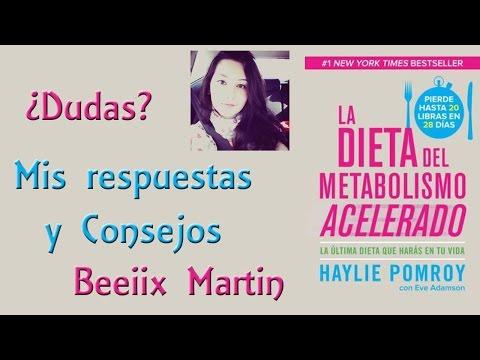 Dieta aceleradora del metabolismo recetas