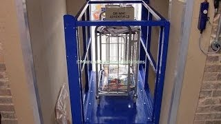 Short Rise Goods Lifts, Supermarket Trolley Lift, Goods Lift, Static Scissor Tables, Lift Tables