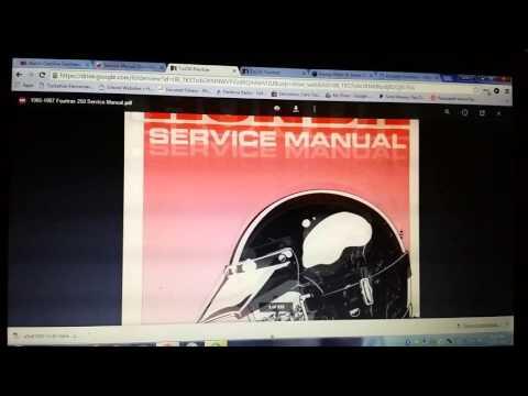 Free ATV Service Manuals - Honda Suzuki Kawasaki Polaris Yamaha