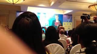 Motivational Speech By Chatur Bhagat (Chetan Bhagat) At Everest Hotel Kathmandu