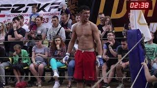ВОДИЛА против Молодого Боксера  !!! Хороший бой !!!