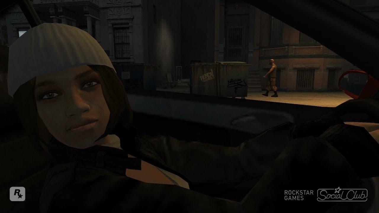 Kiki stalks Niko (GTA IV) - YouTube