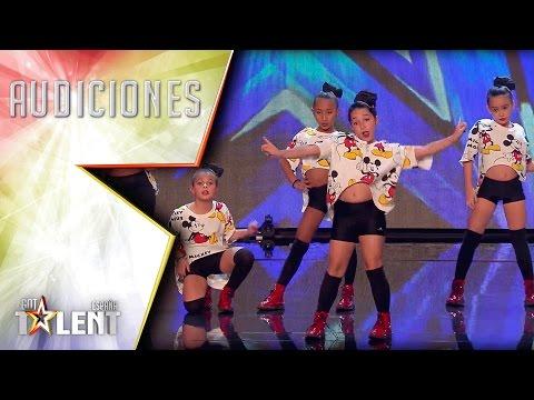 ¡Menudo flow tiene Little Peanuts! | Audiciones 2 | Got Talent España 2017