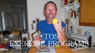 Thoracic outlet syndrome-tos exercise programs