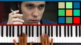 """Video How To Play """"Dinner at Eight"""" Piano Tutorial (Rufus Wainwright) download MP3, 3GP, MP4, WEBM, AVI, FLV Juli 2018"""