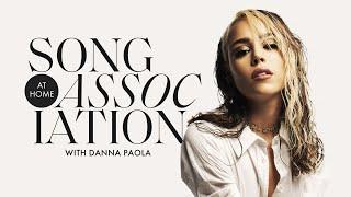 "Danna Paola Sings Ozuna, 24kGoldn, and ""Friend De Semana"" in a Game of Song Association | ELLE"
