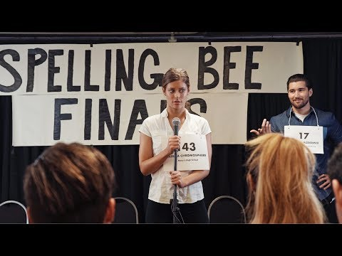 Thumbnail: Spelling Bee | Hannah Stocking