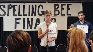 Spelling Bee | Hannah Stocking