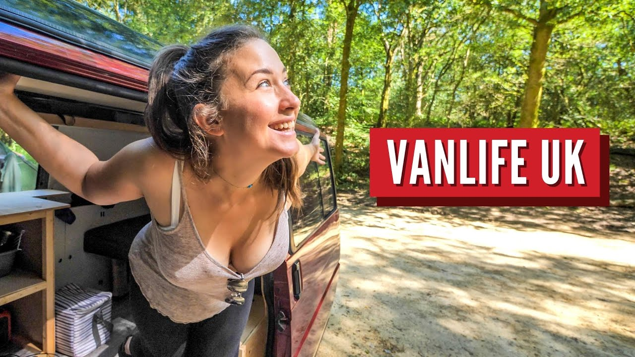 Vanlife Near London   South Downs National Park Part 1