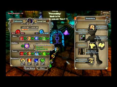 dungeon defenders how to build chrome as abyss lord