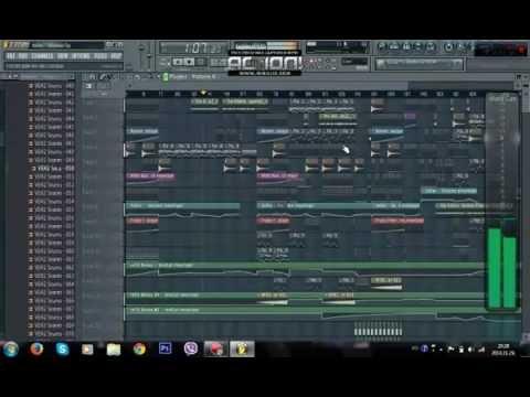 The Killers - Human (Steven Burn Remix) Fl studio tutorial