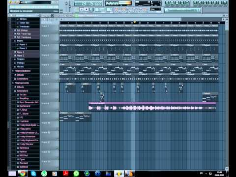 Daft Punk Get lucky, Fl studio cover (+flp +mp3 link)