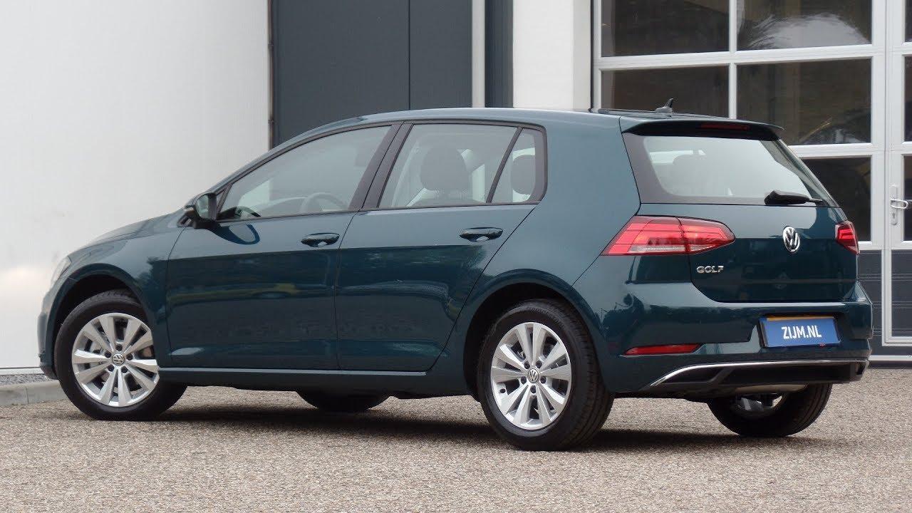 Volkswagen New Golf 2018 Comfortline Pea Green Metallic Walk Around Detail Inside