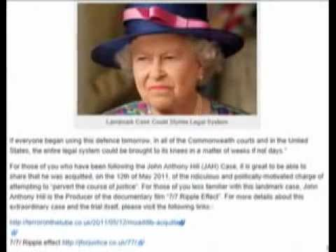 The Grandmother of the Antichrist the WHORE of the Revelation, - Stone of Jah case the QUEEN ILLEGAL