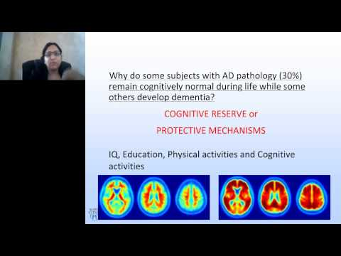 Prashanthi Vemuri - Biomarkers, Cognition and Cognitive Reserve in Alzheimers Disease