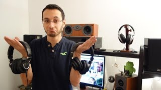 Audio-Technica ATH-M50XBT review (M50X vs M50XBT) - Wireless headphones - By TotallydubbedHD