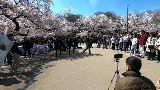 上野公園で【ワールドオーダー】須藤元気発見! #ワールドオーダー#上...