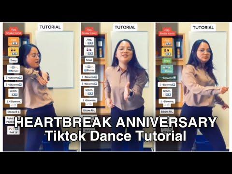 HEARTBREAK ANNIVERSARY TIKTOK DANCE TUTORIAL #shorts