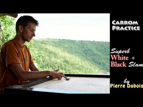 CARROM FABULOUS WHITE + BLACK SLAM by Pierre Dubois