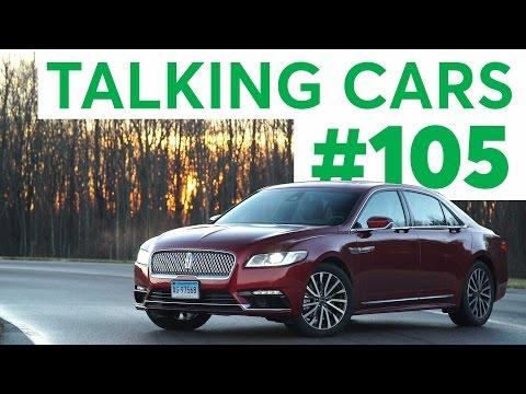 Talking Cars with Consumer Reports #105: Lincoln Continental and Alfa Romeo Giulia