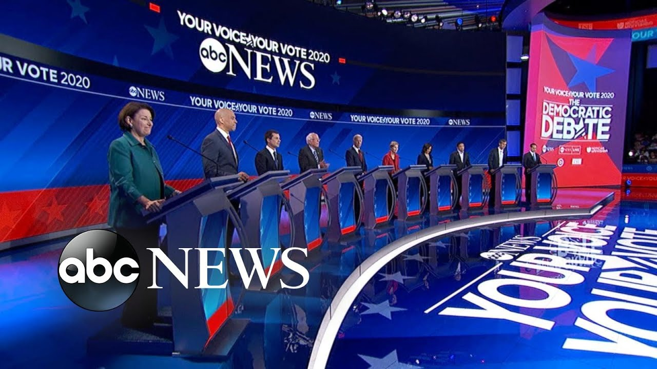 Democratic Debate Live Updates: The Candidates and the Big ...
