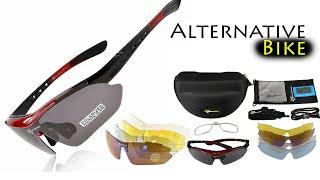 очки со сменными линзами с Алиэкспресс. Очки с диоптриями поляризационные