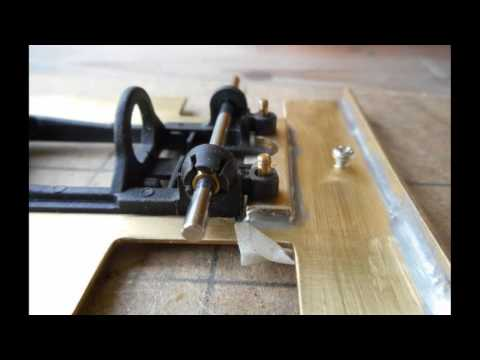 Slot Car Brass chassis