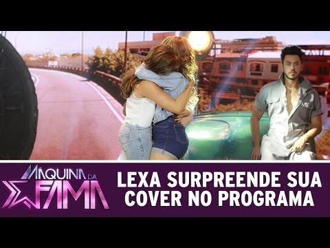 Máquina da Fama (25/04/16) Lexa surpreende sua cover no programa