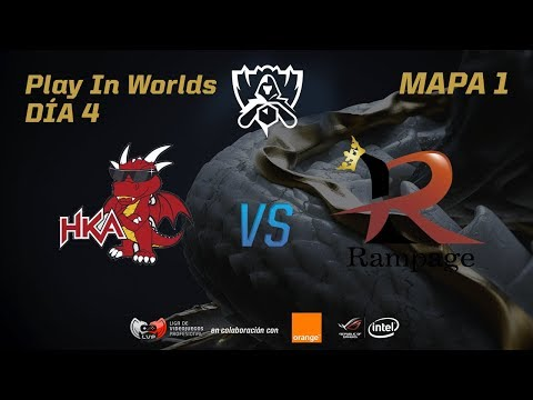 HONG KONG ATTITUDE VS RAMPAGE - LOL WORLDS 2017 - DÍA 4 - PLAY IN