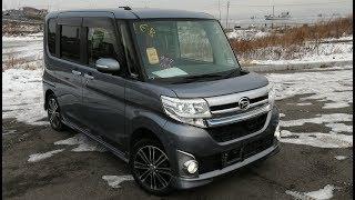 Daihatsu Tanto Custom 2014 - Этот Кей-Кар, удивит каждого!