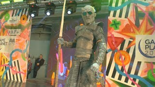 Cosplay Night King Game of thrones /Joke /Ava Expo 2017/