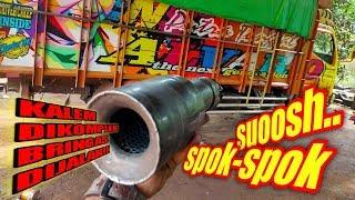 Download membuat kenalpot truk spok spok level medium part2 + chek sound , Build truck extreme muffler sound