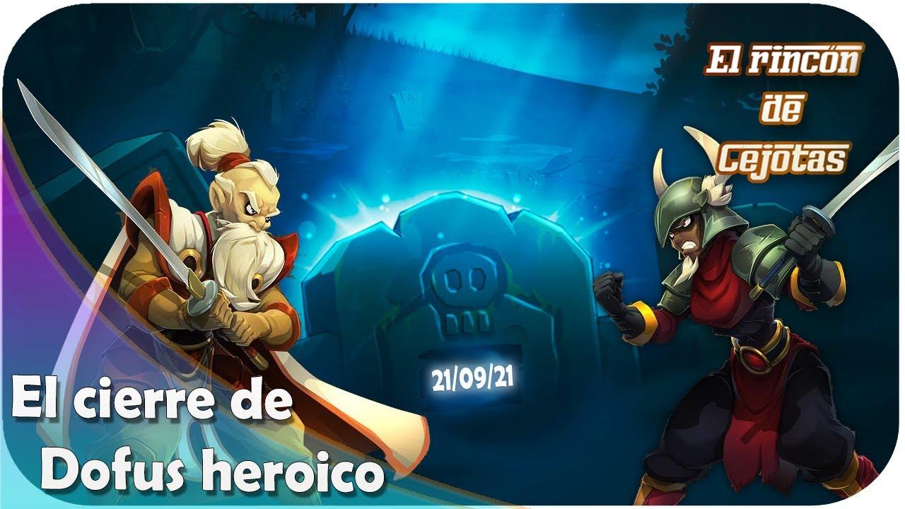 [DOFUS] El fin del servidor heroico (Oto Mustam y Thanatea)