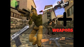 Pack de Armas Nuevas para Counter Strike 1.6 No Steam (MOD)  (EXPLICADO)