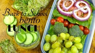 Easy & Healthy Back to School Bento Lunch | Fablunch Thumbnail